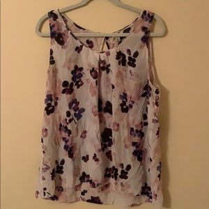 Lucky Brand Silk Tank Top
